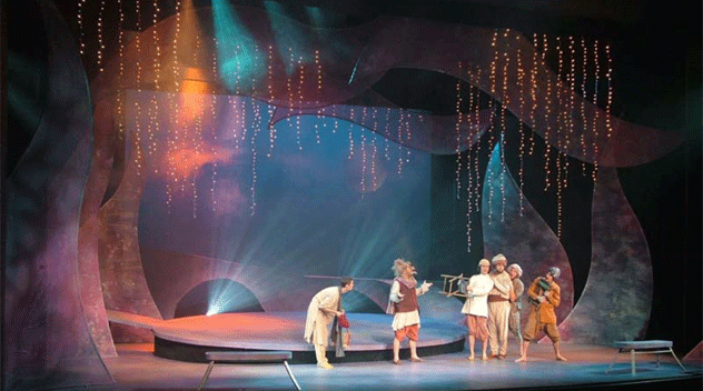 A Midsummer Night's Dream (2006-7 Season) (photo: Courtesy of the Department of Theatre)