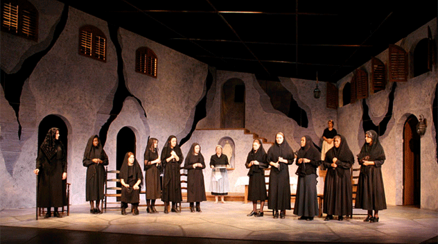The House of Bernarda Alba (2006-7 Season) (photo: Courtesy of the Department of Theatre)