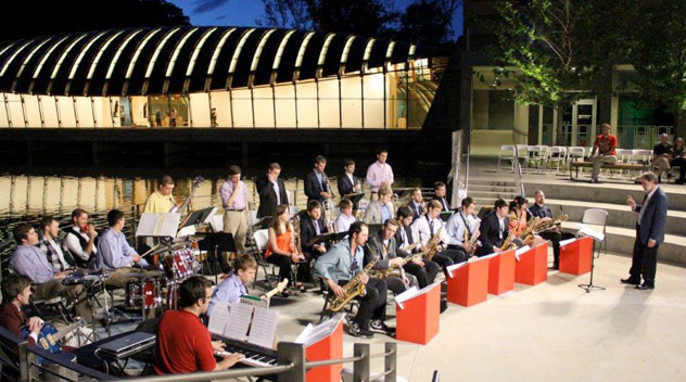 University of Arkansas Jazz Ensemble (photo: Courtesy of the Department of Music)