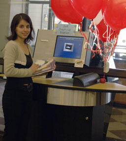 self check out university of arkansas libraries