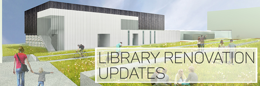 Weekly updates on the Mullins Librry Renovation project