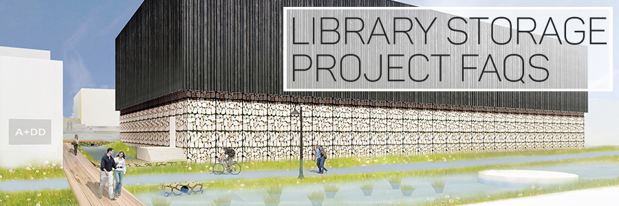 Learn about the future high-denisity library storage facility