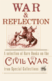 Exhibit poster for War and Reflection
