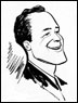 Caricature of Sid McMath.