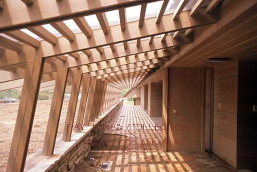 Fay jones collection university of arkansas libraries for Jones architecture
